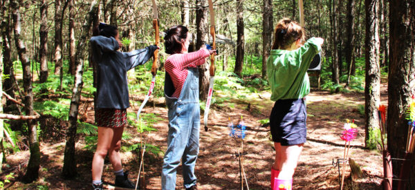 Three Girls Archery