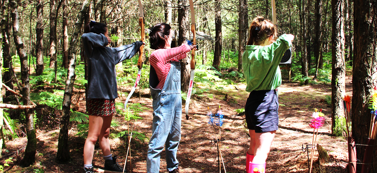 Three Girls Archery