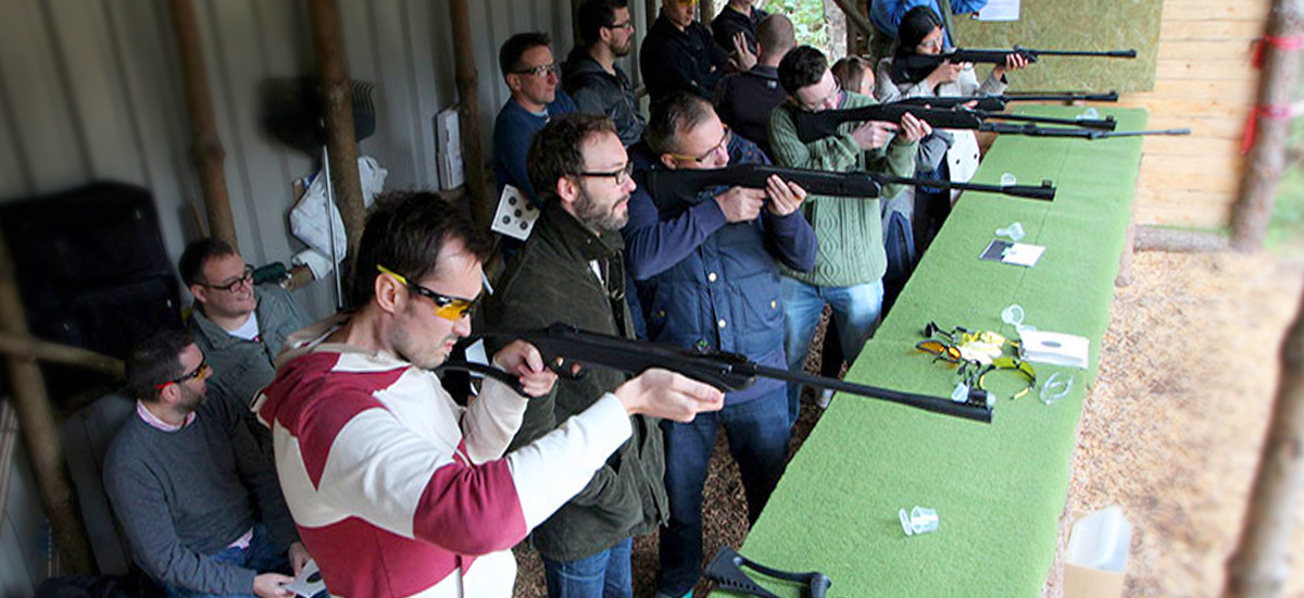 Corporate Team Building Air Rifle