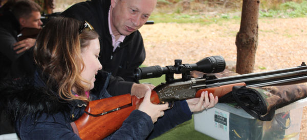 Air Rifle Instruction