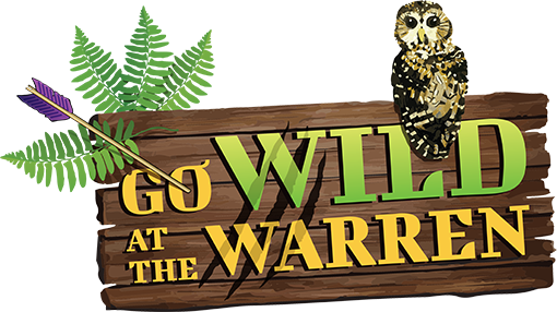 Go Wild At The Warren Logo